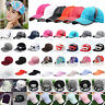 Women Adjustable Snapback Hip-Hop Baseball Cap Breathable Summer Golf Curved Hat