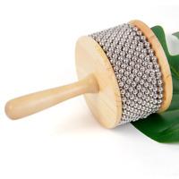 Afuche Cabasa Latin Percussion Hand Shaker Musical Instrument Wood 11.5cm Width