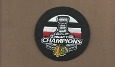 NEW 4 INCH CHICAGO BLACKHAWKS 2015 NHL CHAMPIONS IRON ON PATCH FREE SHIPPING