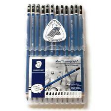 Staedtler Pencil Set 12pcs Mars Lumograph 100 Art Drawing Sketching Writing