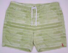 Tommy Bahamas 2XL Short de Bain Vert à Rayures Board Modèle Court Taille  Hommes f982548c6ed