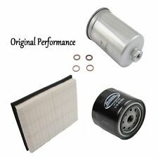 Tune Up Kit Air Oil Fuel Filters for Volvo 740 L4; 2.3L; Turbo; B230FT Eng. 1986