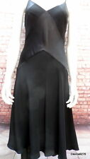 Stunning Black strappy evening dress by Precis Petite 10
