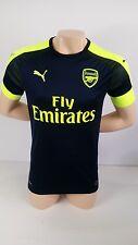 Soccer Shirt Mens Adult Small AFC Third Replica  Arsenal Peacoat Yellow  749716