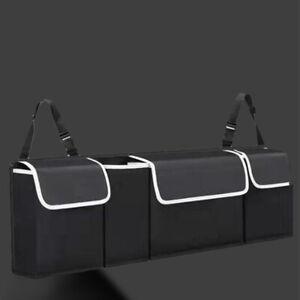 Bag 4 Pocket Car Trunk Organizer Oxford Interior Accessories Back Seat Storage