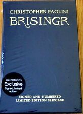 BRISINGR by Christopher Paolini,1st,UK,LTD-NUM-SIG,HC,SlipCase,c.2008  MINT