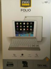 ZAGG Folio Case with Backlit Bluetooth Keyboard for iPad Air - White