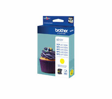 BROTHER LC123Y Yellow Ink Cartridge - Currys