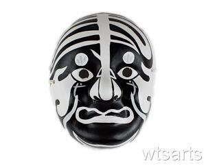 Chinese Opera Mask, Paper Mache Beijing Opera. (Hand Painted)