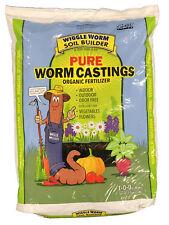 15lb Pound Wiggle Worm Soil Builder Earthworm Castings Organic Fertilizer OMRI