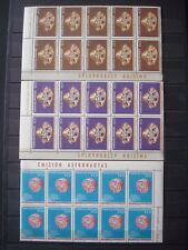 PARAGUAY 1964 2 SETS x 10 MNH** SPACE + OLYMPIC GAMES 1964 / 4 SCANS