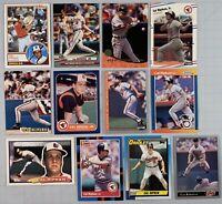 Cal Ripken Jr. Lot of 23 Different Baseball Cards