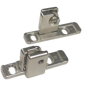 Hettich Multitech Front Drawer Bracket Connector 54mm (Pair)