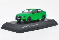1/43 AUDI RS3 limousine 2016 Green Diecast Car model Collection