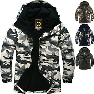 SOUTH PLAY Good Quality Men Ski Snowboard Jacket Jumper Parka Coat Tops MILITARY