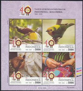 Indonesia - Indonesie New Issue 2020-09-15 (SS) Birds