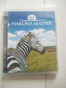 Hakuna Matata (Afrika) - Sony PlayStation PS3 - ASIA (CN/EN) - Neuf / NEW SEALED