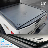 2010-2020 Ford  F-150 Tonneau Cover 5.5ft Truck Bed Retractable Waterproof Hard