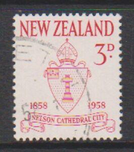 New Zealand - 1958, Centenary of City of Nelson stamp - F/U - SG 767