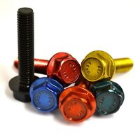 M8 GWR Colourfast® Hexagon Flanged Setscrews - A2 Stainless Coloured Hex Flange