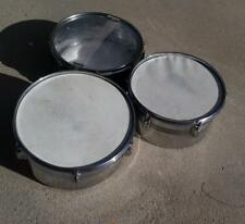 3 REUTHER Drums Snare and Toms Used Have some rust
