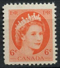 Canada 1954-62 SG#468, 6c QEII Definitive MNH  #D6955