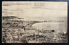 1910s Belgian Congo Real Picture Postcard Stationery cover Kigoma Bay