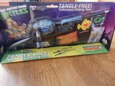 "New! ""Teenage Mutant Ninja Turtles"" Tangle- Free Telescopic Fishing Pole Age 4+"