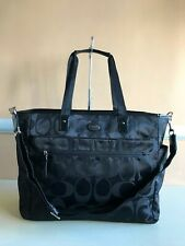COACH Brand Signature Nylon Baby Bag