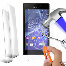 Twin Pack - Genuine Tempered Glass Screen Protector for Sony Xperia SP