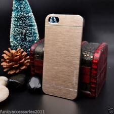 Fundas y carcasas Para iPhone 5s en color principal oro metal para teléfonos móviles y PDAs