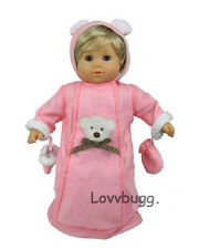"""Snow suit Bear Bunting for 15"""" Doll Bitty Baby Twins Doll Clothes by Lovvbugg"""