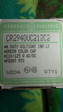 CR2940, GE, Push Button, Heavy Duty, Oil Tight, Indicating Light,