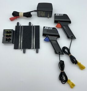SCX Compact 1:43 Slot Car Transformer and 2 Controllers Tested & Works Great