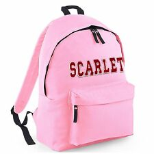Personalised School Bag for Boys/Girls kids Names on Backpack/Rucksacks