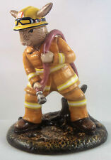 Royal Doulton Bush Fire Fighter (CFA) Bunnykins DB489 limited edition new in box