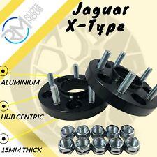 5x108 30mm in lega Hubcentric Wheel Distanziatori Jaguary XF 2008 in poi 1 Paio