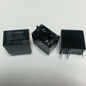 2Pcs TAIKO TB1-225 General Purpose Relays 12VDC 5 Pins