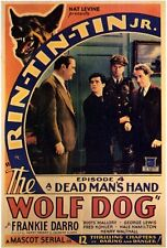 THE WOLF DOG Movie POSTER 27x40 B Frankie Darro Rin Tin Tin Jr. George J. Lewis