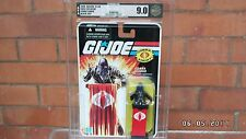 Brand New Sealed GI JOE SDCC 2008 Black Suit Cobra Commander AFA Graded 90