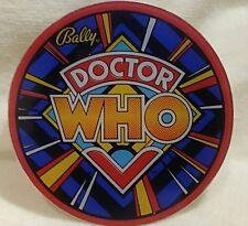 Bally DOCTOR WHO Original 1992 NOS Pinball Machine Plastic Promo Piece
