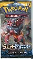 Pokemon Sun & Moon TCG Factory Sealed Packet x1