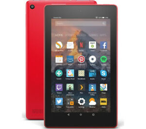 Amazon Kindle Fire 7th HD 8GB, Wi-Fi, 7 inch - Red SX034QT