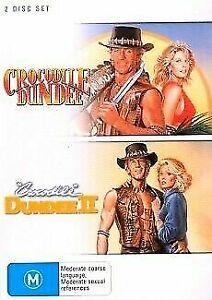 CROCODILE DUNDEE 1 & 2 (2 DVD) Collection PAUL HOGAN Australian Region 4