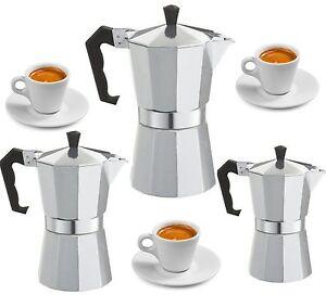 Espressokocher Espressobereiter für 3 ,6 , 9 Tassen Espresso Espressomaschine