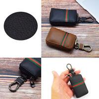 1PC For SUV Car Smart Key Case Remote Bag Unisex Key Chain Holder Zipper Pouch