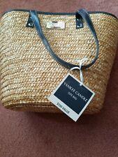 NWT YANKEE CANDLE Straw Tote Bag