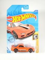 2020 Hot Wheels #43 HW Turbo '95 Mazda RX-7 ERROR NEW NOC with Protector Pak