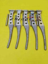5Pcs Rasp for Thompson Instrumentation for hip prosthesis orthopedic surgery