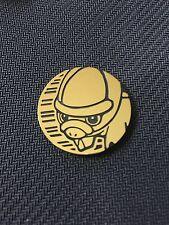 Pokemon Brown Shieldon Collector COIN - NEW
